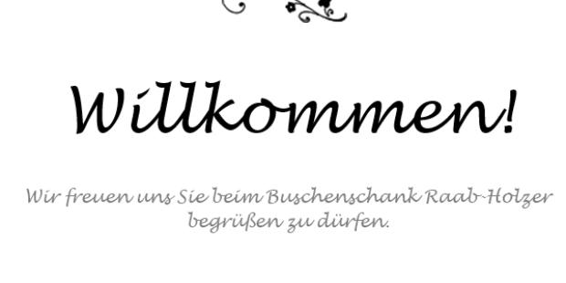 ♥-lich Willkommen